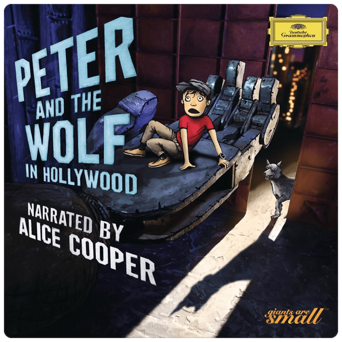 Peter and the Wolf in Hollywood with Alexander Shelley, Alice Cooper and the Bundesjugendorchester on Deutsche Grammophon