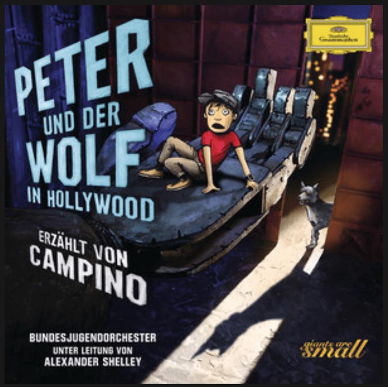 Peter und der Wolf in Hollywood with Alexander Shelley, Campino and the Bundesjugendorchester on Deutsche Grammophon