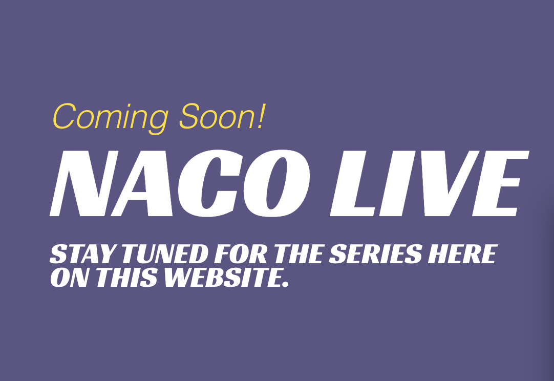 The NAC Orchestra's NACO LIVE series is coming soon