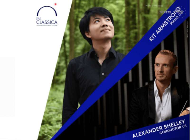 Alexander Shelley and Kit Armstrong perform at the InClassica Festival
