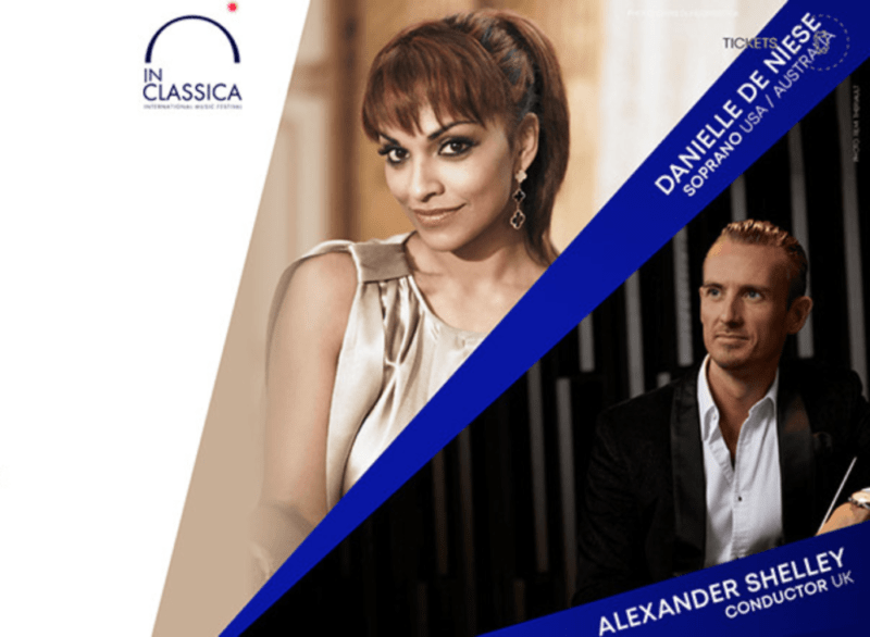 Alexander Shelley and Danielle de Niese perform at the InClassica Festival